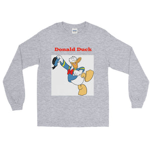 Duck Cartoon Long Sleeve T-Shirt