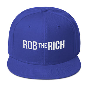 ROB THE RICH Snapback Hat