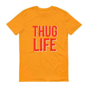 Thug Life Hip Hop Short-Sleeve T-Shirt