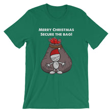 Cartoon Secure the Bag Christmas Edition Short-Sleeve Unisex T-Shirt