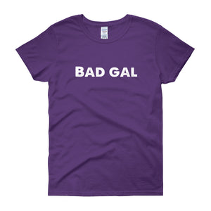 Women's BAD GAL short sleeve t-shirt
