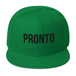 Pronto! Spanish for Right Now Snapback Hat
