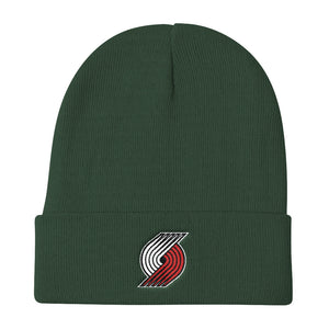 Portland TrailBlazers Basketball Knit Beanie