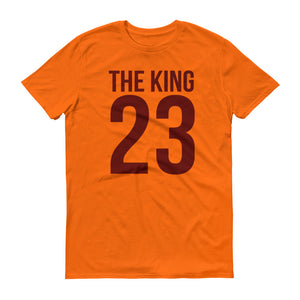 The King Basketball Short-Sleeve T-Shirt