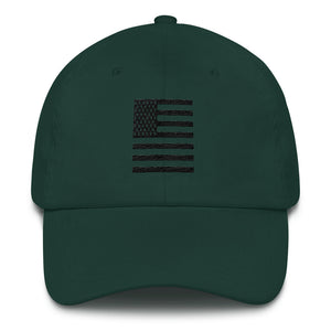 Black American Flag Baseball hat