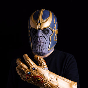 Avengers Infinity War Thanos Mask Glove