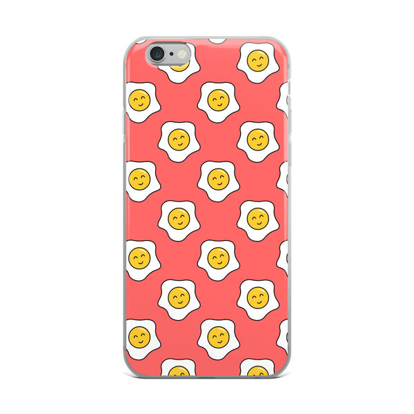 Happy Eggy Kawaii iPhone Case