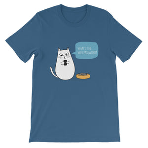 Wifi Cat Unisex T-Shirt