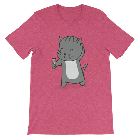 Selfie Kitty Unisex T-Shirt