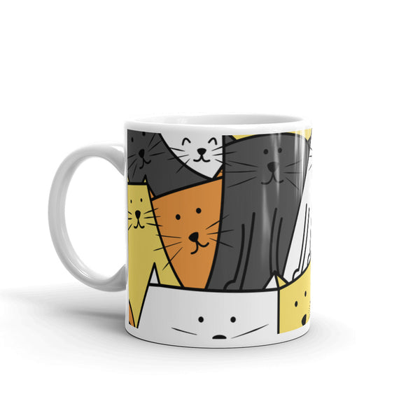 The Cats are Watching Coffee and Tea Mug