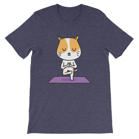 Yoga Cat Unisex T-Shirt