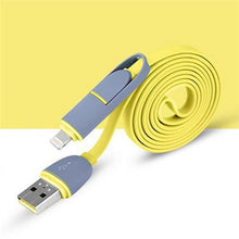 2 in 1 Micro USB Data Charger Cable