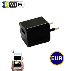 1080P Wifi Wall Charger Hidden Camera(EUR Standard)