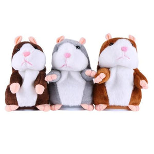 Talking Hamster Plush Animal Toy