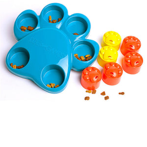 2018 Roller Paw Puzzle Slowing-Eating Dogs Pets Toys
