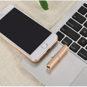 2 in 1 Charging Audio Adapter