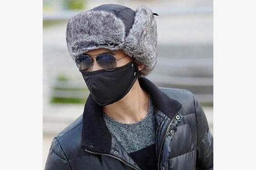 Windproof Winter Snow Cap