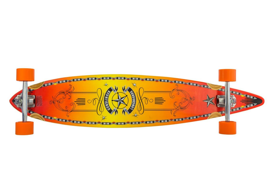 46 Western Pintail  -  WAS $359.00 NOW - Gunslinger Longboard Skateboards Australia