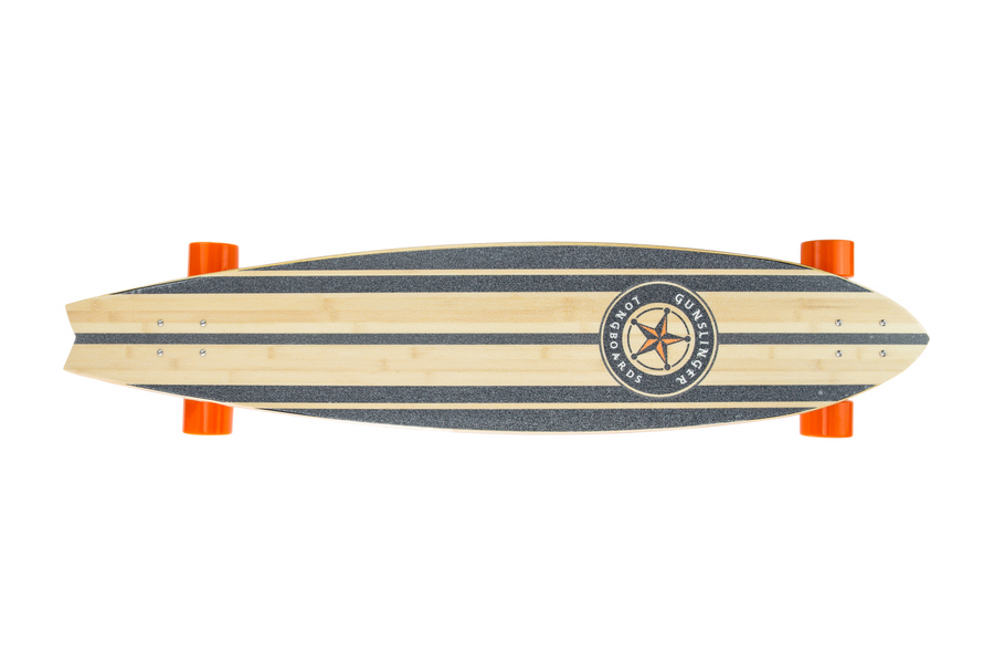 Battlecruiser Deck Only  - Gunslinger Longboard Skateboards Australia