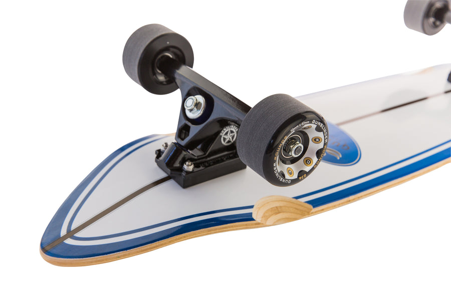 Rounds Black 83A - Gunslinger Longboard Skateboards Australia