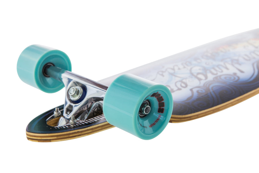 Bombs Blue 78A - Gunslinger Longboard Skateboards Australia