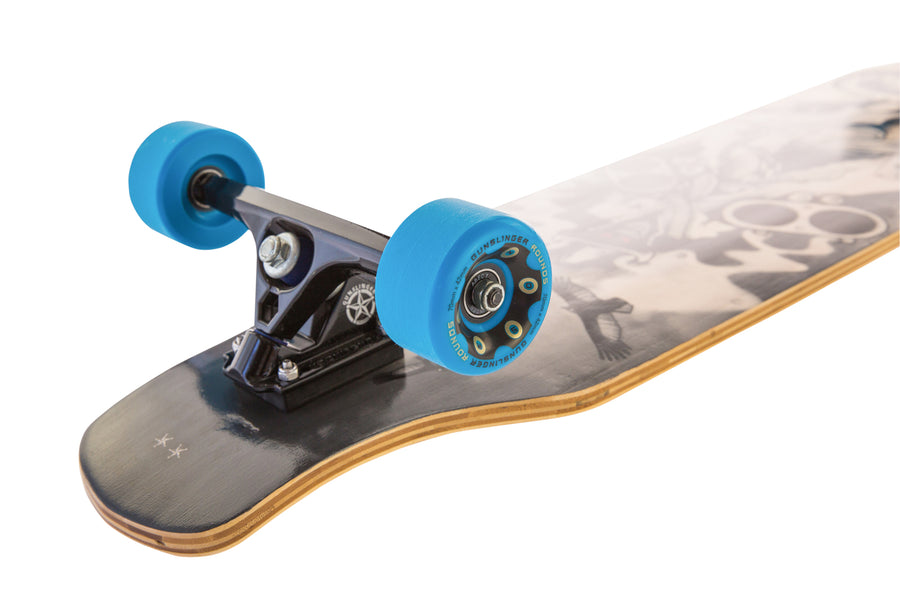 Rounds Blue 78A - Gunslinger Longboard Skateboards Australia