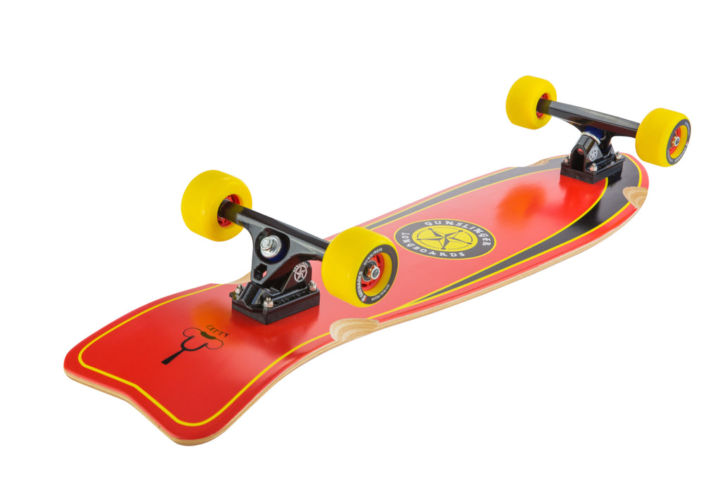 Catty Deck Only  - Gunslinger Longboard Skateboards Australia