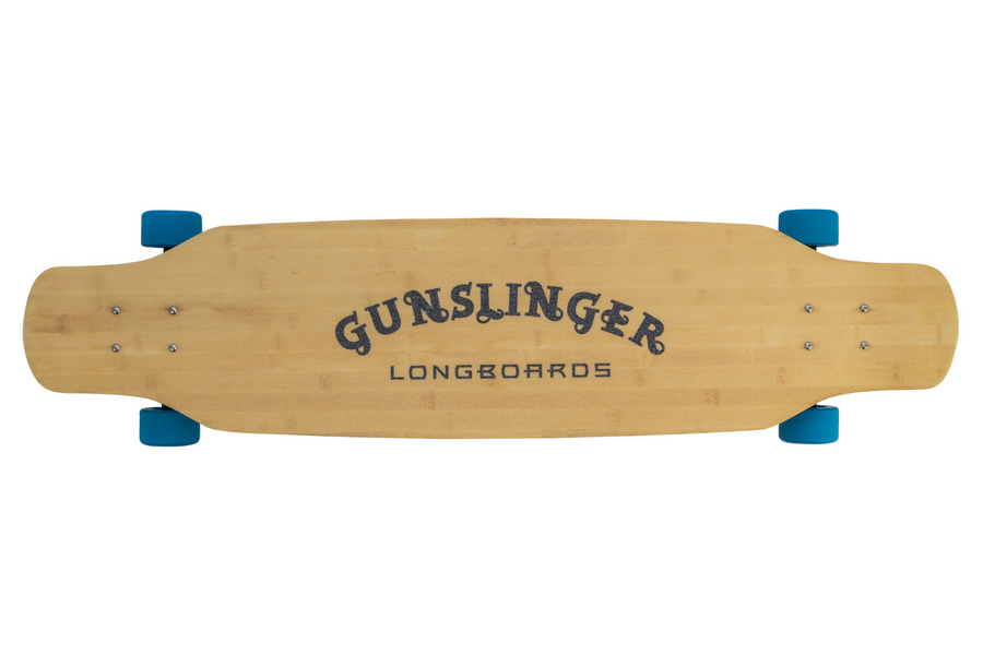 Double Barrel Deck Only  - Gunslinger Longboard Skateboards Australia