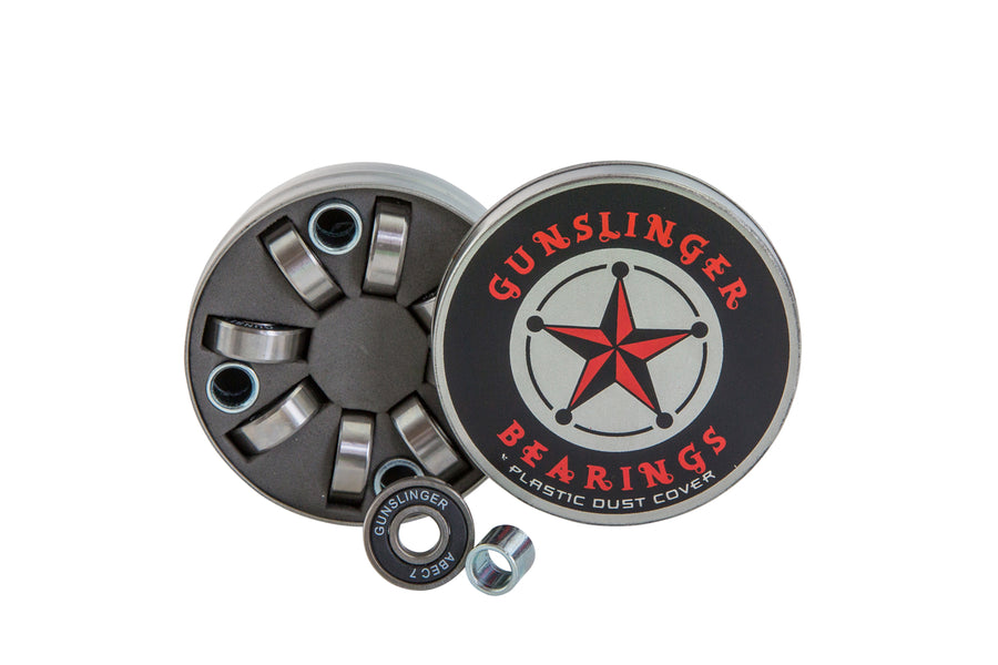 Bearing Tin - Gunslinger Longboard Skateboards Australia