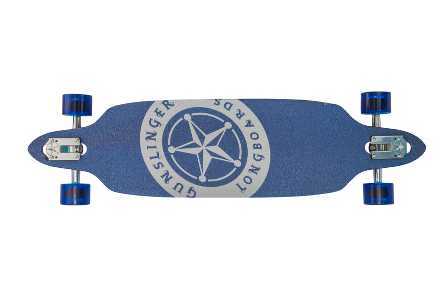 "Jackie Hangman Deck Only  -  39"" Maple - Gunslinger Longboard Skateboards Australia"