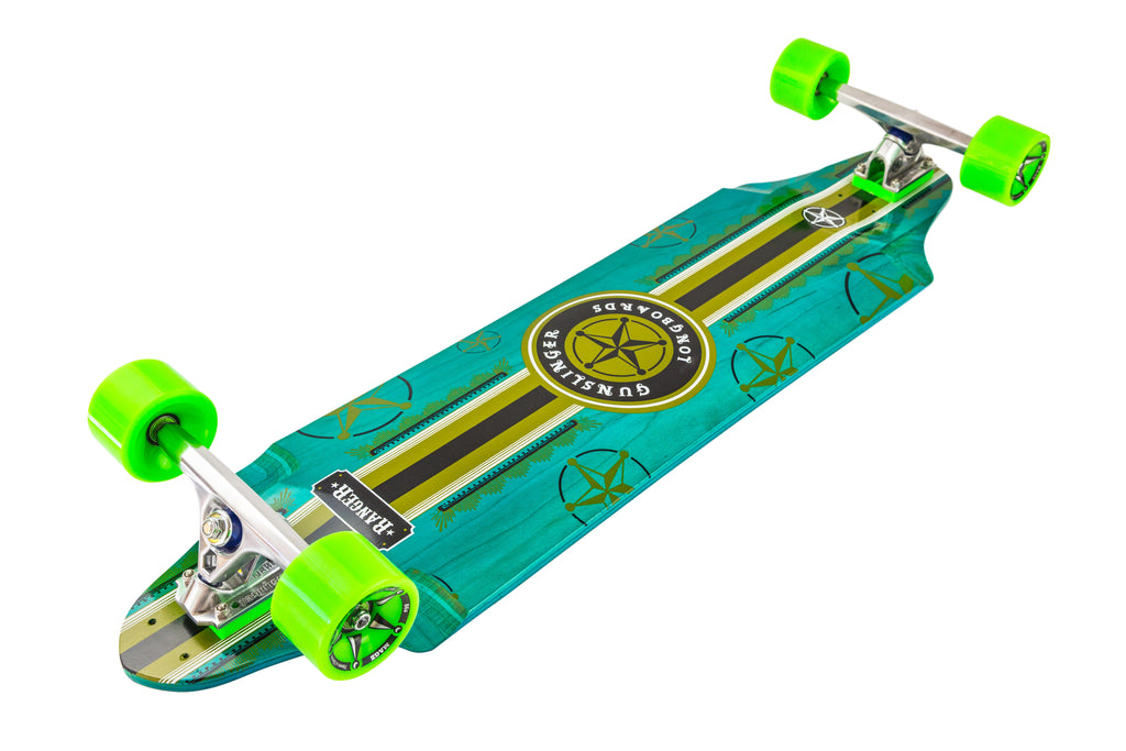 "Ranger - Deck Only - 38""/ 965mm - Maple - Top Mount - Downhill/ Freeride - Gunslinger Longboard Skateboards Australia"