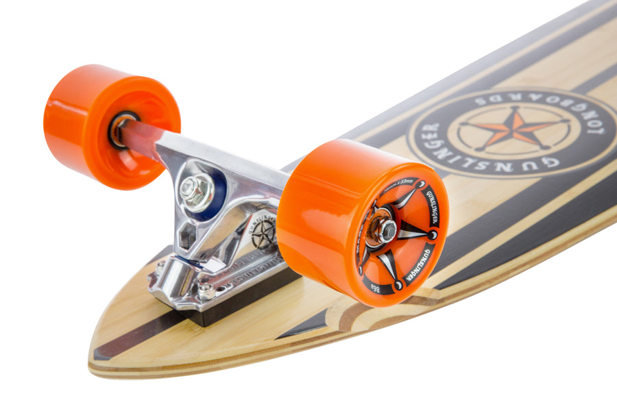Magz Orange 86A - Gunslinger Longboard Skateboards Australia