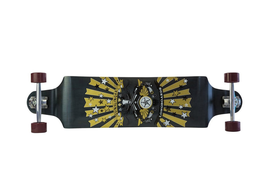"Peacemaker - 41"" Maple - Gunslinger Longboard Skateboards Australia"