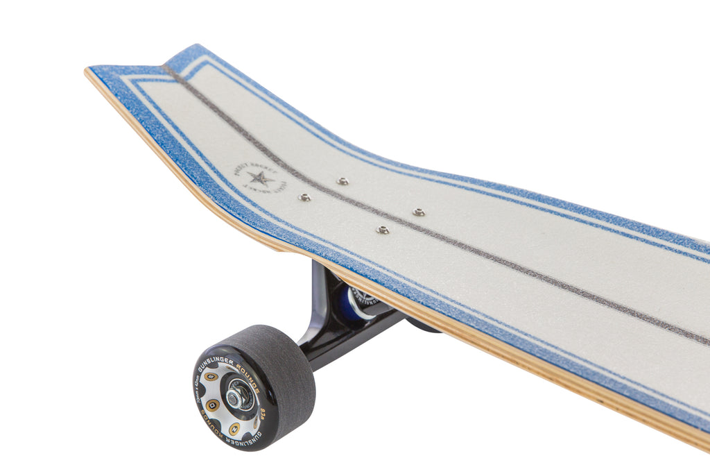 "Pocket Rocket Deck Only  -  33"" Maple - Gunslinger Longboard Skateboards Australia"