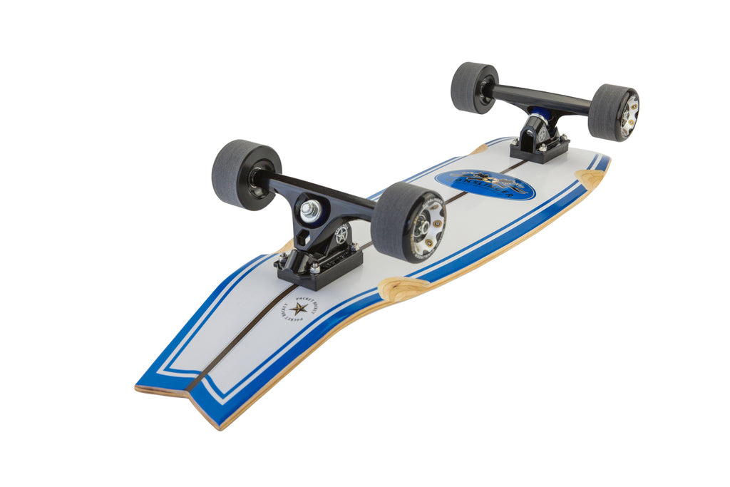 "Pocket Rocket  -  33"" Maple - Gunslinger Longboard Skateboards Australia"