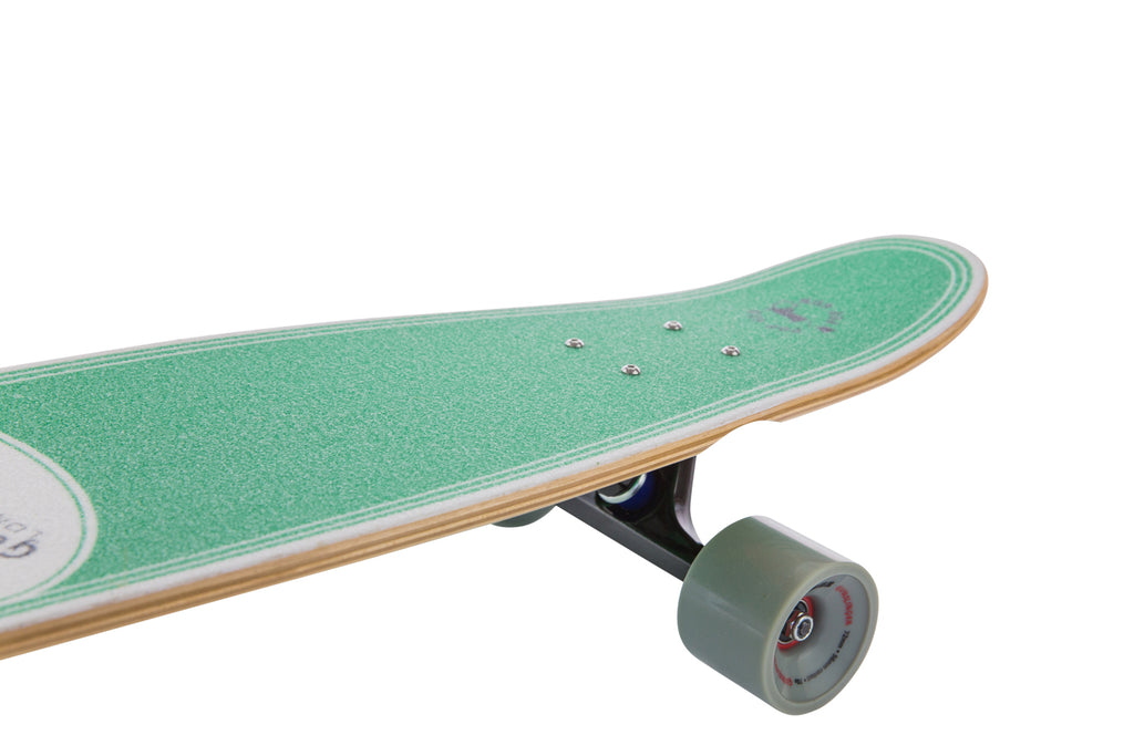 "Popgun Deck Only  -  33"" Maple - Gunslinger Longboard Skateboards Australia"