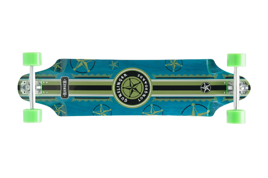 "Ranger Deck Only - 38""/ 965mm - Maple - Top Mount - Downhill/ Freeride - Gunslinger Longboard Skateboards Australia"
