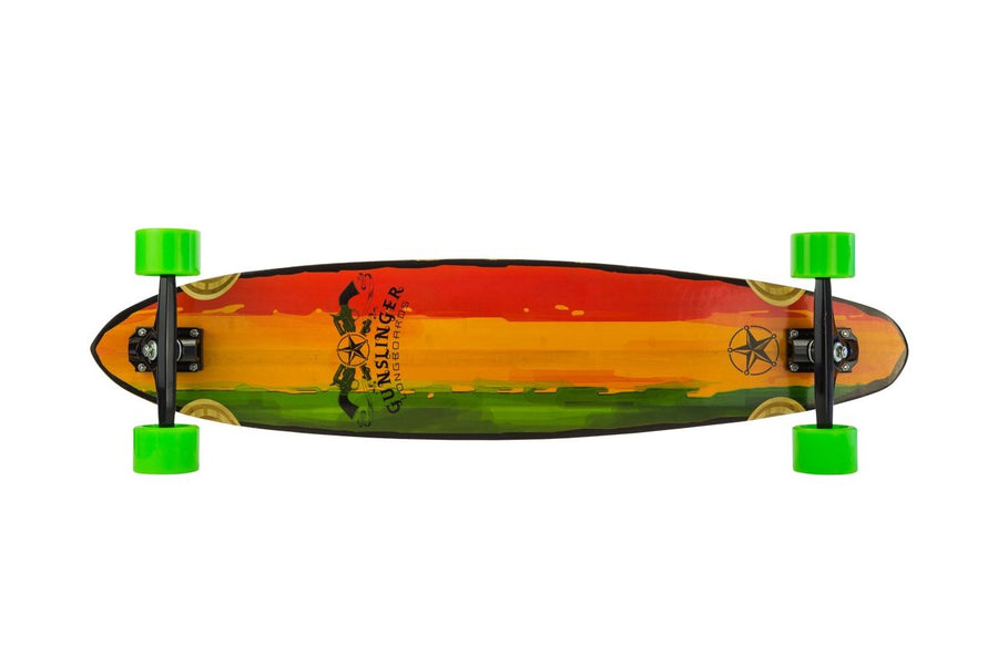 40 Rasta  -  WAS $339.00 NOW - Gunslinger Longboard Skateboards Australia