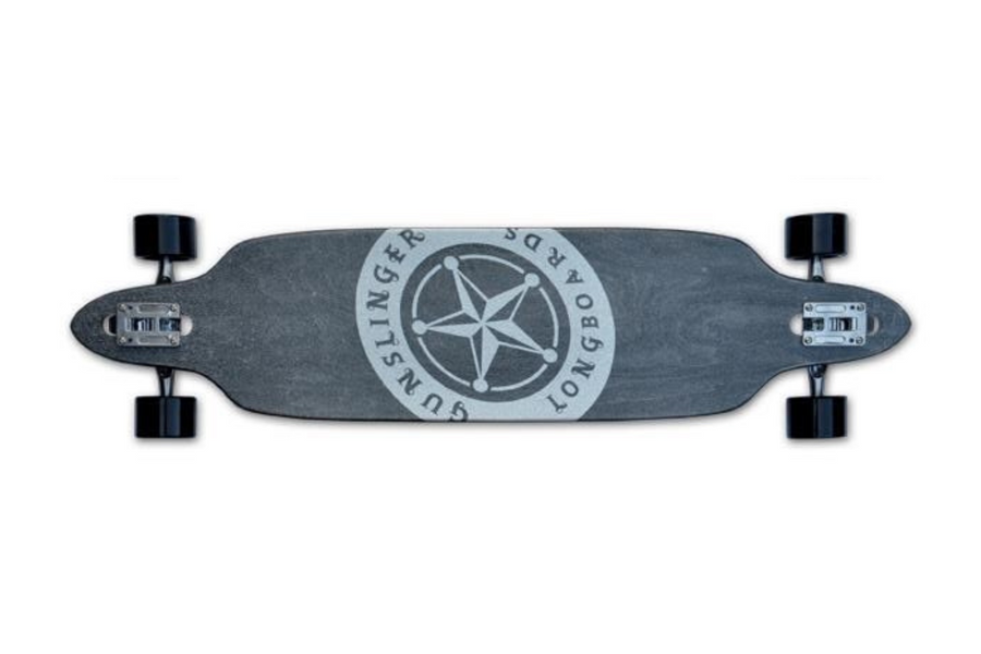 "Raven - 41""/ 1041mm - 9 Ply Maple - Drop-Thru - Downhill/ Freeride  - Gunslinger Longboard Skateboards Australia"