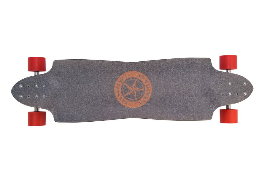 "Undertaker - 38""/ 965mm Maple - Downhill, Freeride  - Gunslinger Longboard Skateboards Australia"