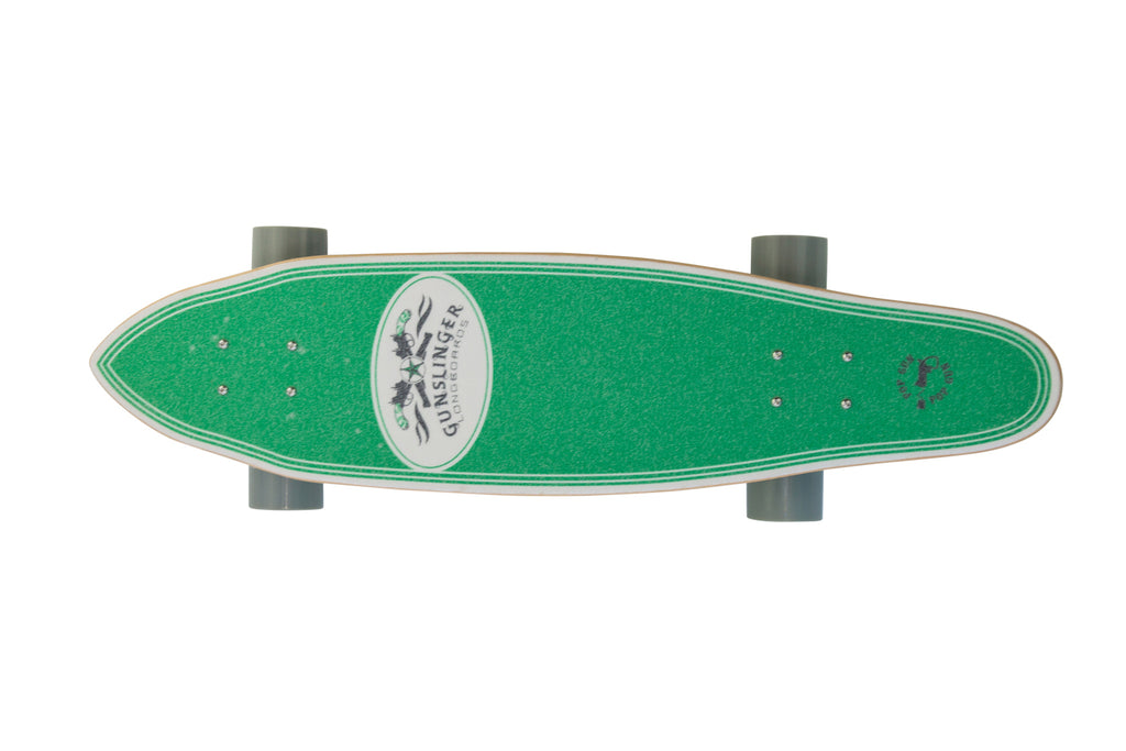 "Popgun  -  33"" Maple - Gunslinger Longboard Skateboards Australia"