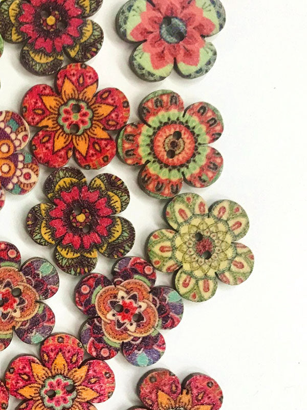 Vintage Style Plum Button For DIY Craft