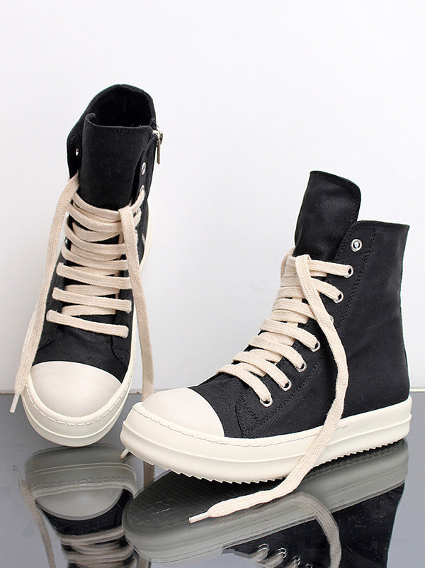 High-top Casual Canvas Sneaker