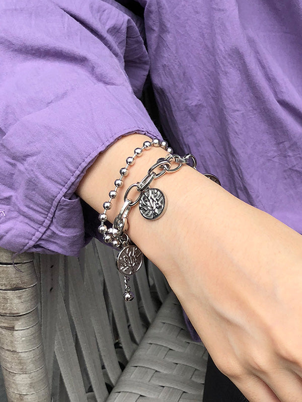 Double Chains Bracelets