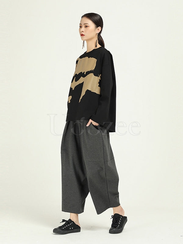 Loose Original Design Harem Pants