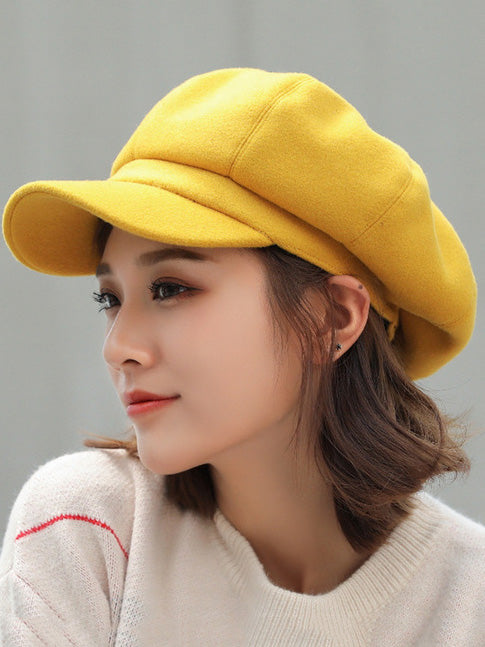 Pure Color Simple Beret