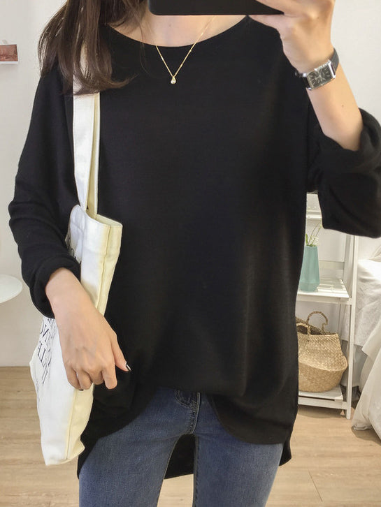 Simple Casual Primer Shirt Sweater