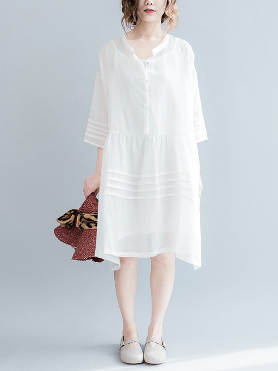 Loose Comfortable two-piece The lantern sleeve Dress
