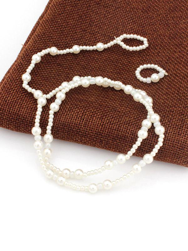Pretty Pearl Footchain Accessories