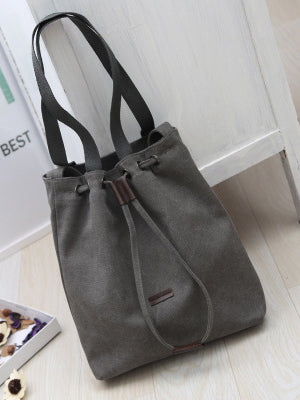 Simple Shoulder Canvas Bag